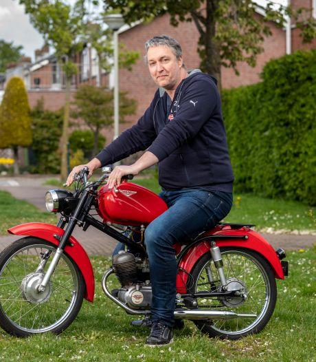 Italianen knielen ervoor: 'Nassetti-man' Rick is in de ban van een zeldzame brommer uit San Pellegrino