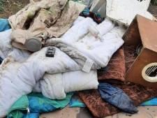 Daklozenslaapplek ontruimd in Park Merwestein