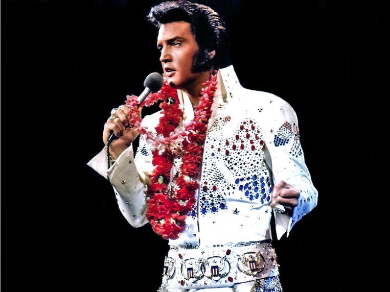 Elvis Presley. Beeld rv