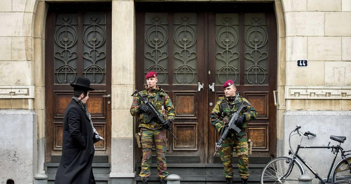 'Camera's in joodse wijk Antwerpen controleren synagogegangers' | Buitenland - AD.nl