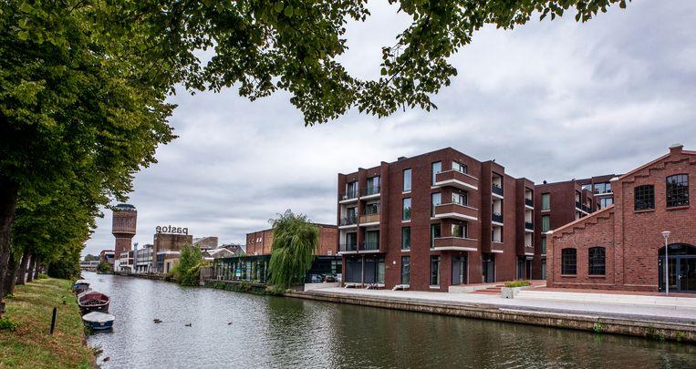 Het studentenappartementencomplex aan de Rotsoord in Utrecht.  Beeld Raymond Rutting / de Volkskrant
