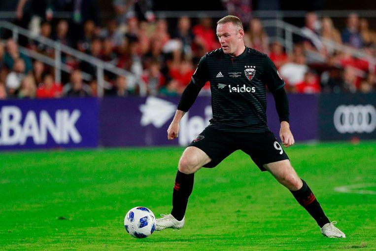 Wayne Rooney speelde in 2018 voor D.C. United. Beeld AFP