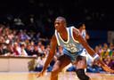Michael Jordan als speler van North Carolina.
