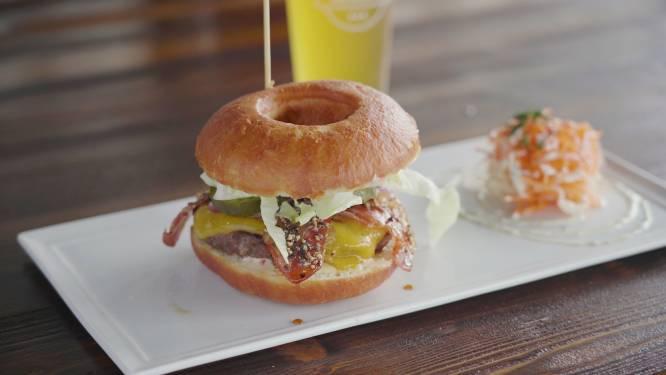 Huggy's Bar et Jean Galler s'associent et sortent le surprenant Donut Burger