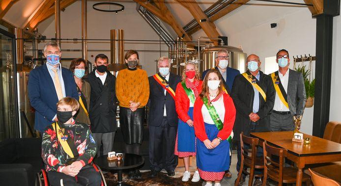 De huisbrouwerij van Koksijde werd officieel voor geopend verklaard.