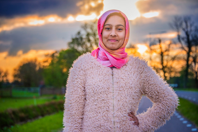Kosar, het zusje (13) van Maedeh.