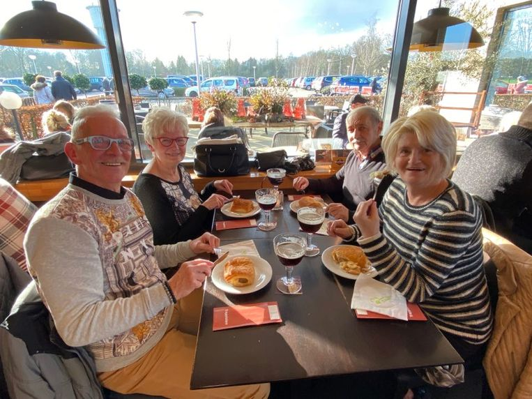 Maurice, Jeanine, Marcel en Annie komen al meer dan dertig jaar langs op Verloren Maandag.