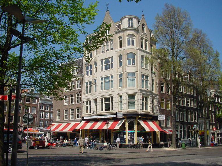 Boekhandel Athenaeum op het Spui in Amsterdam. Beeld