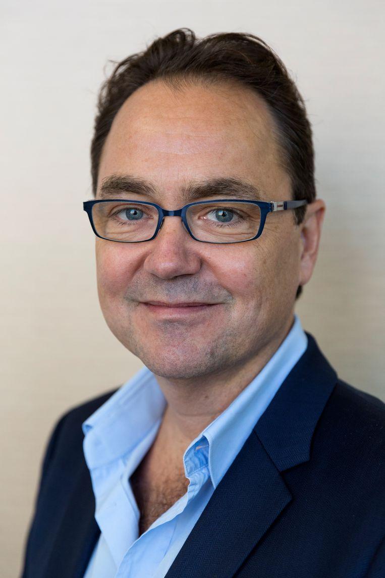Fred Boot, theaterproducent, vindt dat de theatersector nu te weinig in beeld is in Den Haag. Beeld Catharina Glogowski