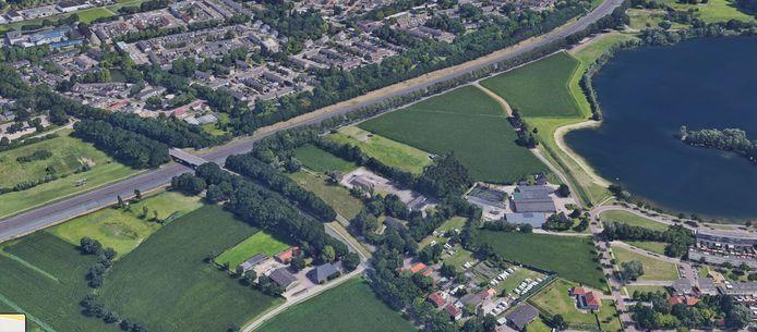 Bakertand west bij de Oostplas tussen Tilburg en Goirle.