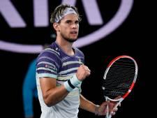 Bousculé par Zverev mais solide, Thiem rejoint Djokovic en finale de l'Open d'Australie