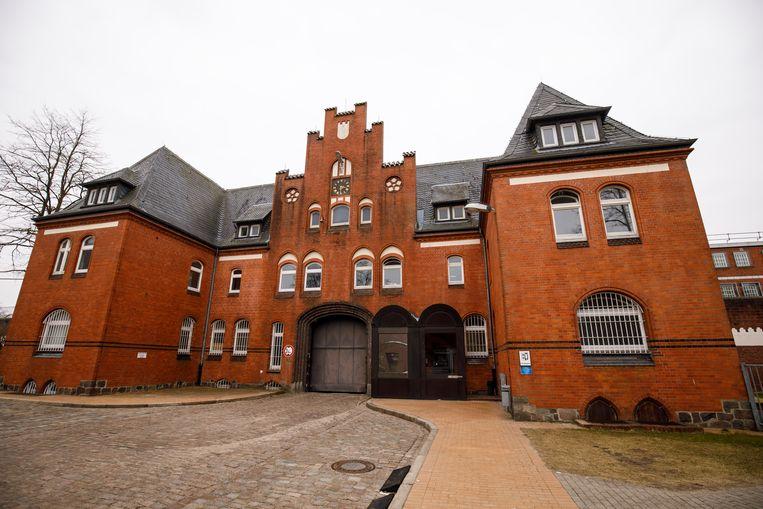 In deze gevangenis in Neumünster is Puigdemont momenteel opgesloten. Beeld Getty Images