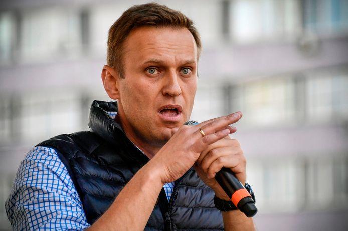 De Russische oppositiepoliticus Aleksej Navalny. Archieffoto.