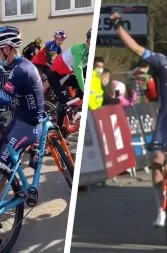 Van der Poel kijkt rustig toe hoe concurrentie zich voor de start op de rollen uitslooft, om daarna iedereen uit het wiel te knallen in shorttrack
