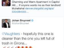 Bruyneel attaque Vaughters avec un tweet sur le dopage