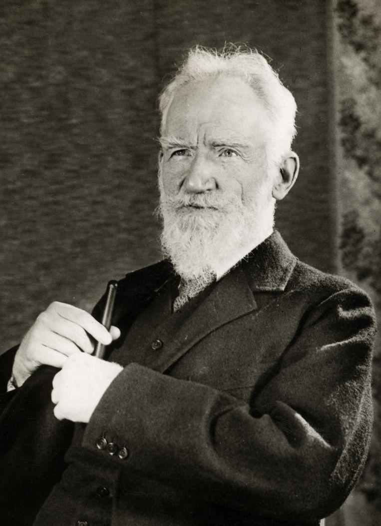 George Bernard Shaw.  Beeld Getty Images