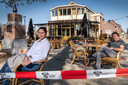 Frans Timmers en Dany de Rijck, nieuwe eigenaren van Café de Kiosk in Loon op Zand.