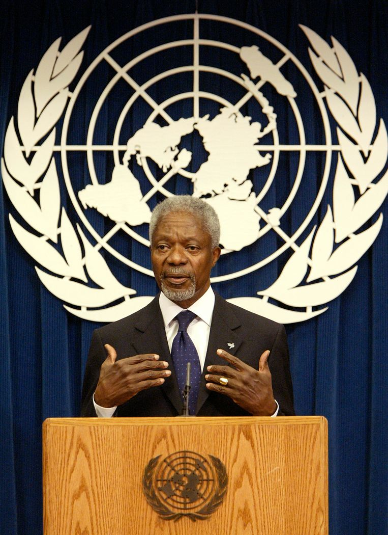 Kofi Annan. Beeld AP