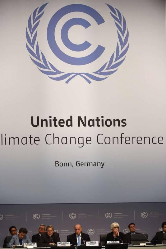 Klimaatconferentie in Bonn