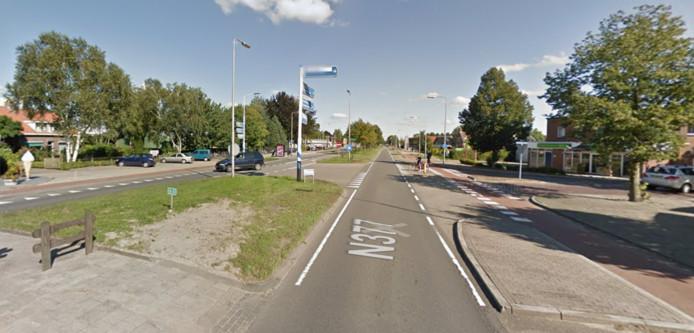 Ruim 40 weggebruikers reden te hard op de N377 in Nieuwleusen.