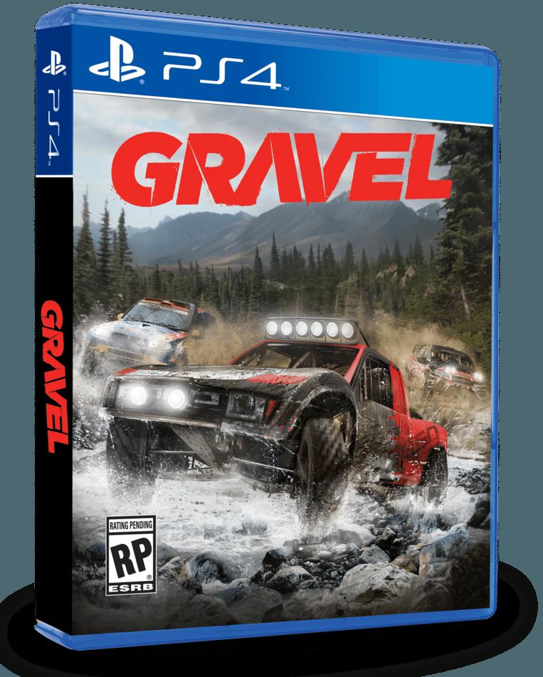 Baggeren door zand, modder en grint: dat is het raceplezier dat 'Gravel' u levert. Beeld Milestone