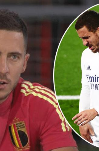 """Hazard praat eerlijk over de blessuremiserie die hem maar blijft achtervolgen: """"Op matchdagen ging het top, maar telkens ik daags nadien wakker werd..."""""""