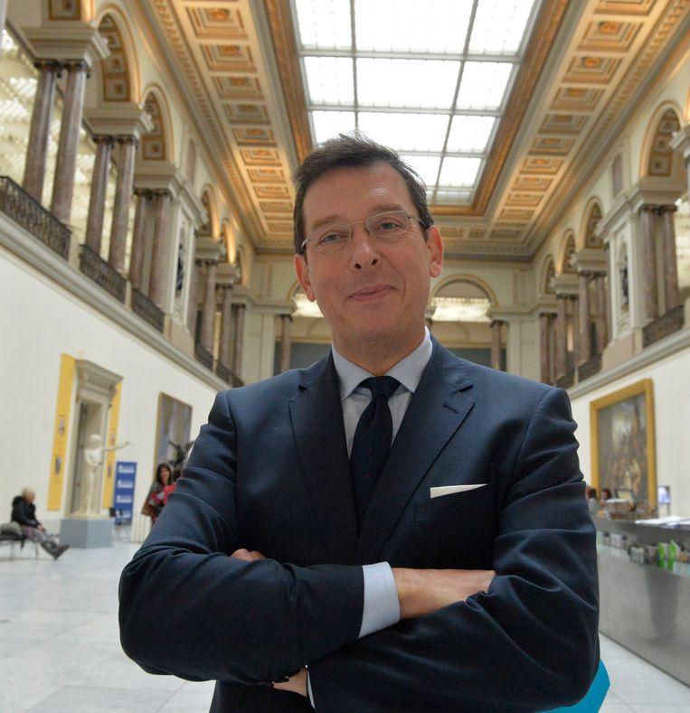 Michel Draguet, directeur van de Koninklijke Musea voor Schone Kunsten van België Beeld Photo News