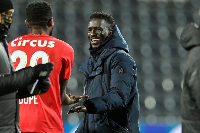 Mbaye Leye n'est plus qu'à une victoire de son premier trophée en tant qu'entraîneur.