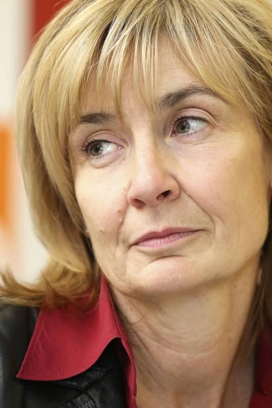 Burgemeester Françoise Schepmans van Sint-Jans-Molenbeek