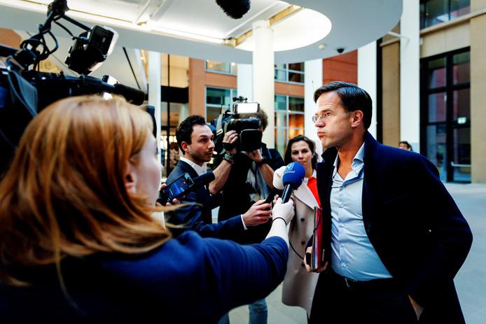 Minister-president Mark Rutte is opgelucht dat het pensioenakkoord definitief rond is.