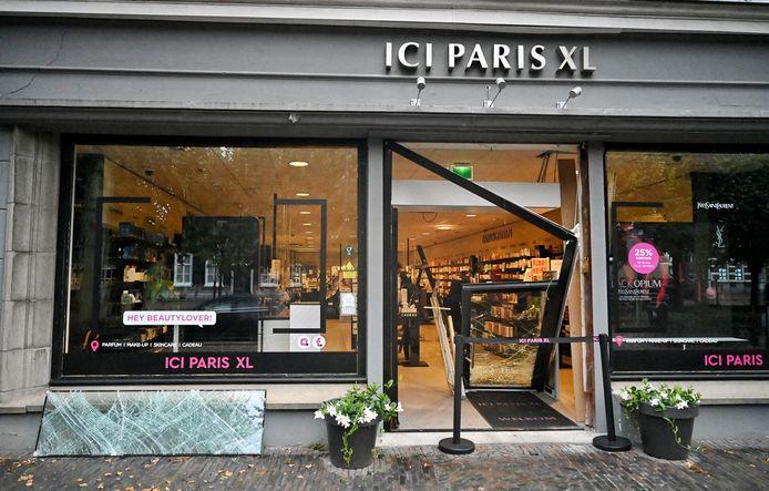 De parfumerie aan De Lind in Oisterwijk is al vaker het doelwit geweest van (pogingen tot) inbraak. Ook woensdagnacht was het weer raak.