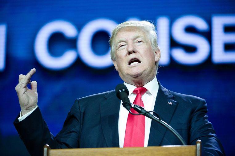 Donald Trump in Colorado. Beeld afp