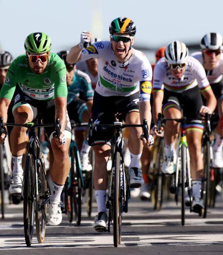 Bennett wint nerveuze Touretappe en neemt groen over van Sagan