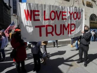 Eerste bezoek van Trump aan New York sinds vertrek uit Witte Huis