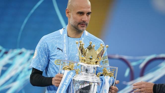 Pep Guardiola verkozen tot Trainer van het Jaar in Engeland