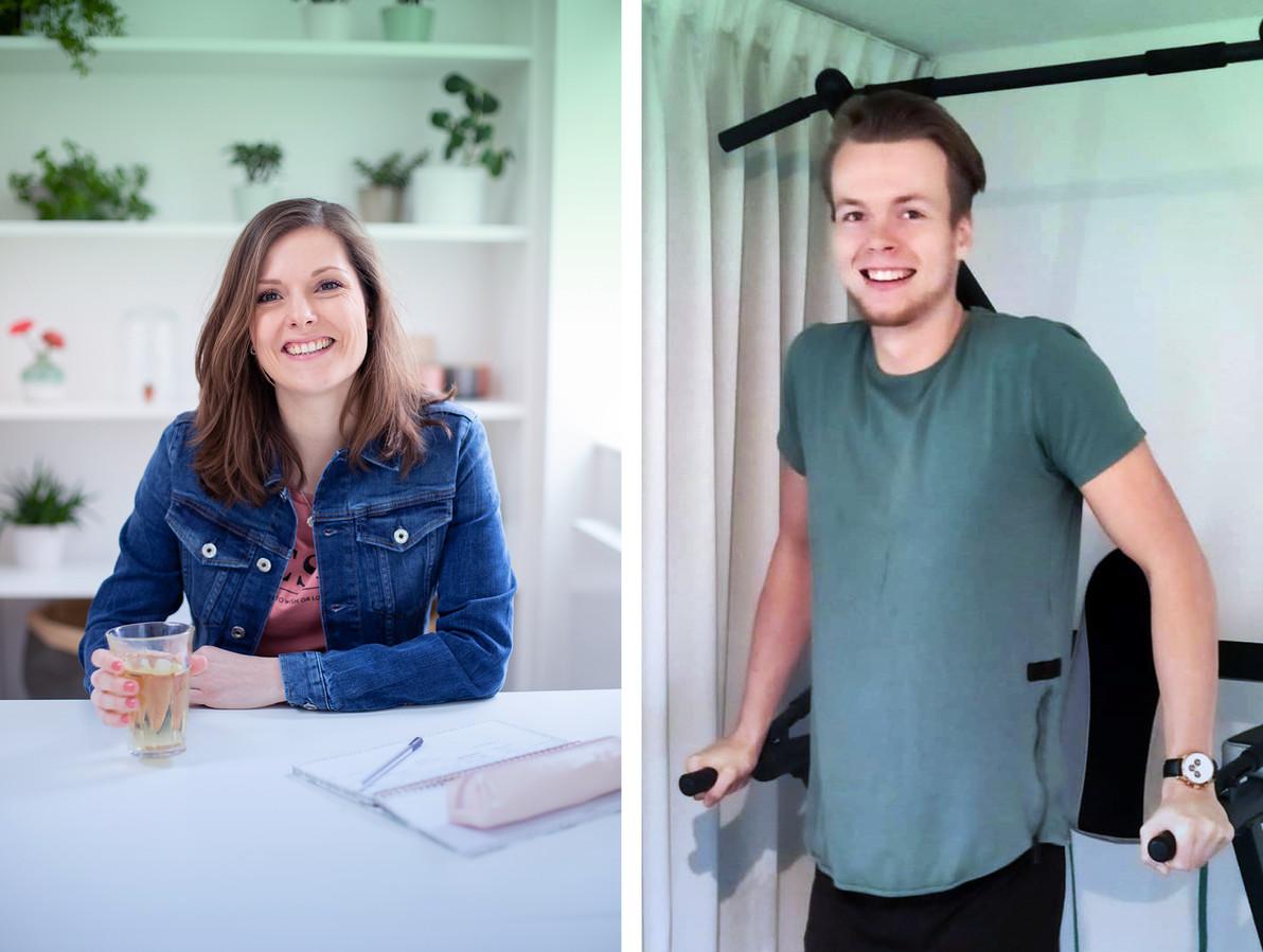 Hanneke en Luka