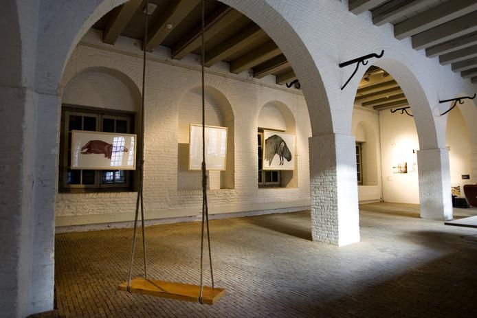 De voormalige expositieruimte van STOK in het Kruithuis. De kunststichting is inmiddels vertrokken.