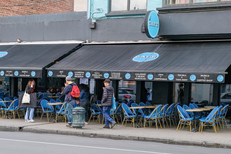 El Café. Beeld Marc Baert
