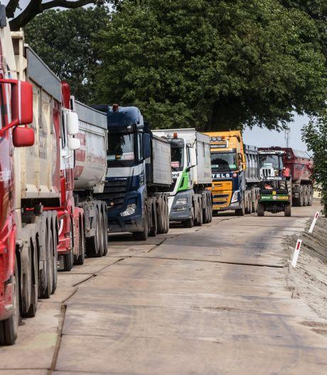 Dag en nacht vrachtwagens, soms wel 50 per uur: megaklus bij Zevenbergen heeft flinke impact op omwonenden