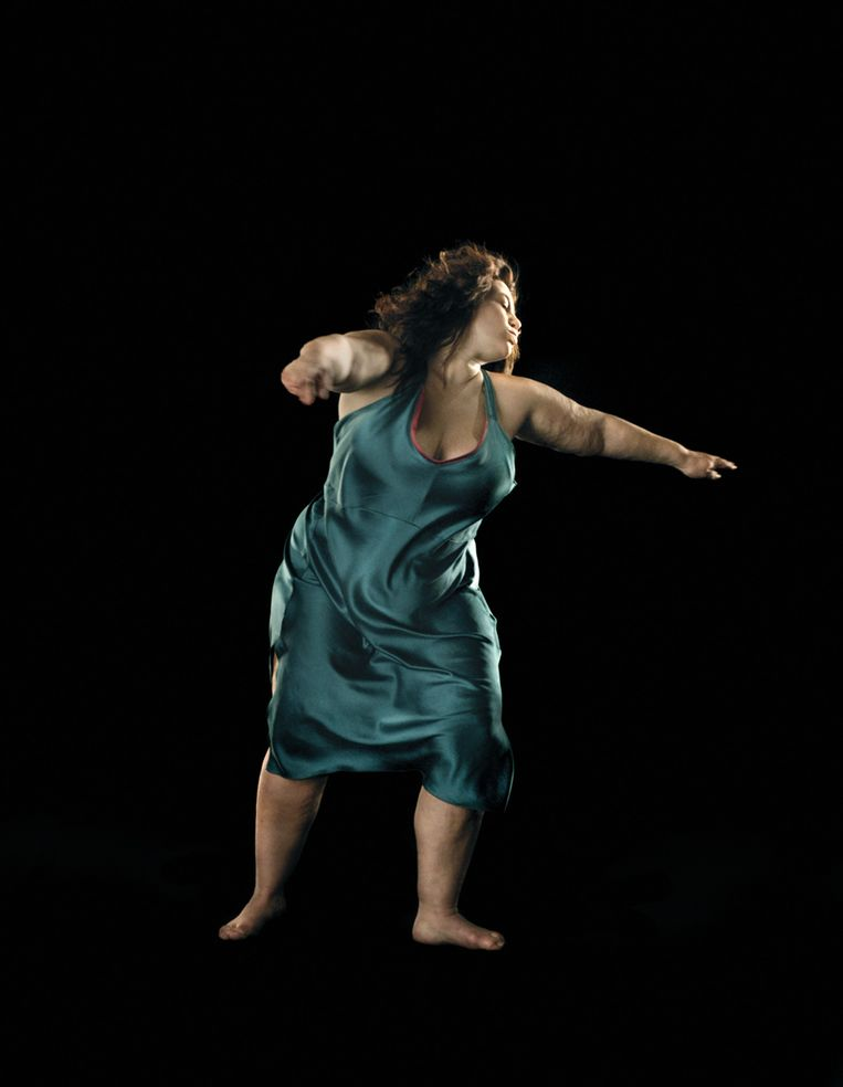 David Michalek, Slow Dancing, in Huis Marseille. Beeld David Michalek