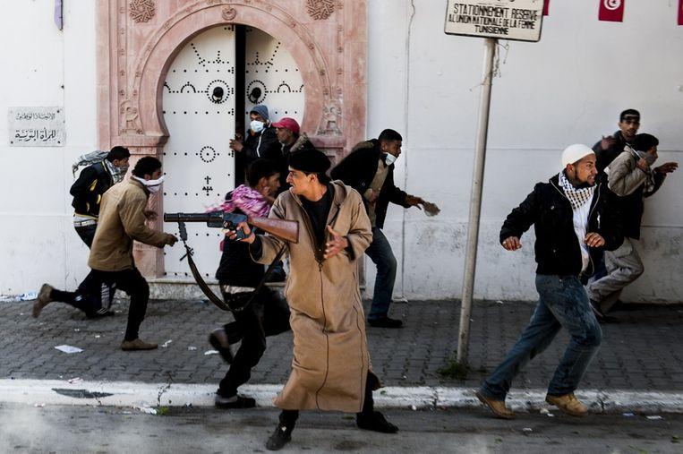 Arab Spring. Beeld Benjamin Girette