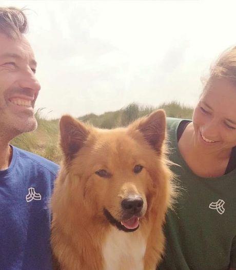 Daan en Steef maken al ploggend de Nederlandse kust schoon en treffen elkaar zondag in Scheveningen