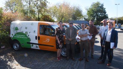 Elf CNG-wagens voor duurzamer wagenpark