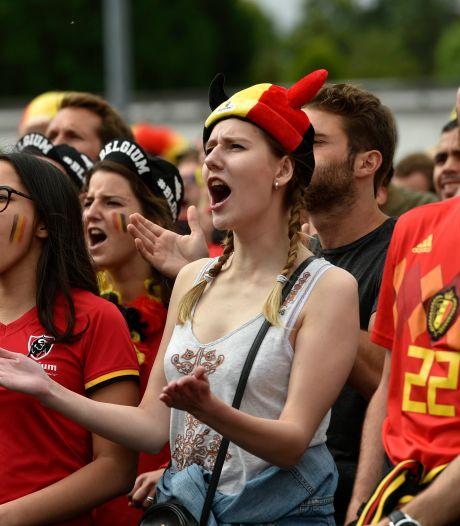 Pas d'écrans géants à Bruxelles pour Belgique-Portugal