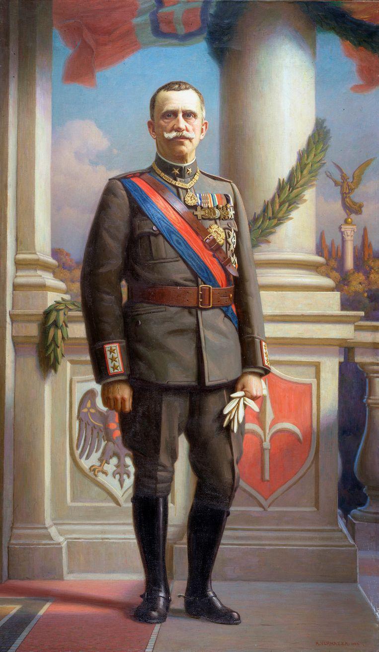 Victor Emanuel III (1869- 1947) Beeld Getty