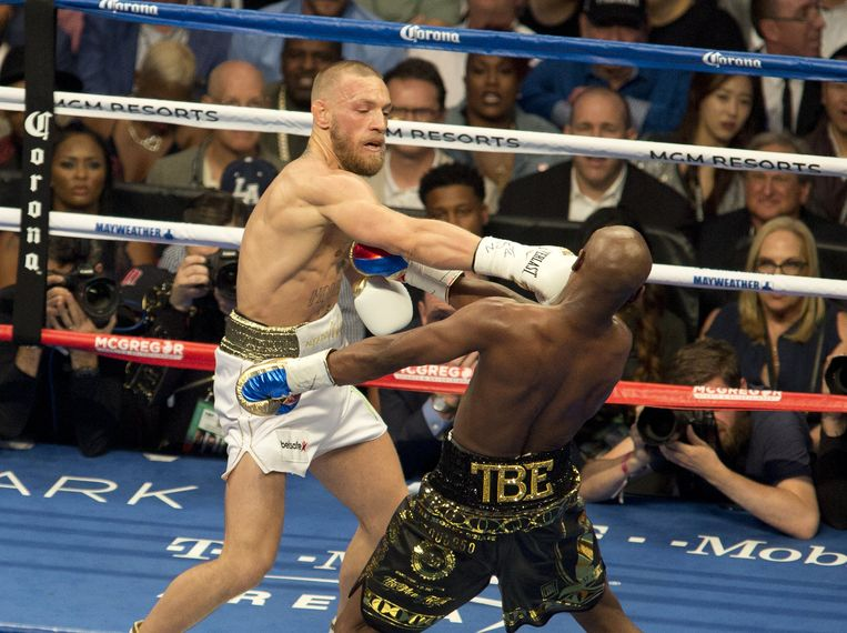 McGregor vs Mayweather.