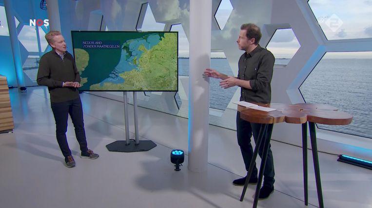 NOS Klimaattop NL, NPO 2. Beeld