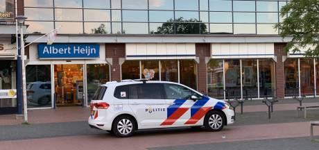 Nachtelijke poging tot snelkraak bij Albert Heijn, daders waren op zoek naar rookwaar