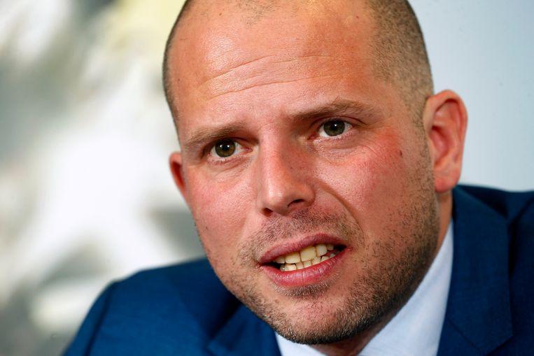 Ex-staatssecretaris voor Asiel en Migratie Theo Francken (N-VA). Beeld Photo News