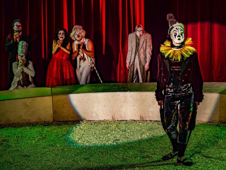 The Clowns Convention, Wunderbaum Beeld  Joachim Dette